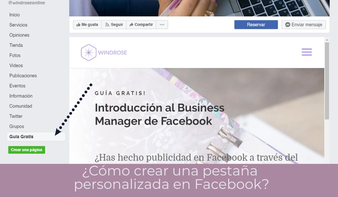 pestaña personalizada facebook